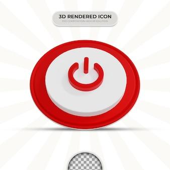 Значок переключателя включения 3d-рендеринга