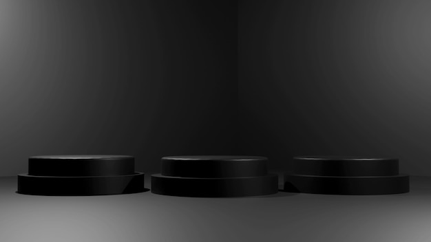 3d rendering podium design