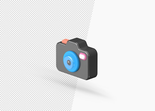 3d визуализация реалистичной модели камеры