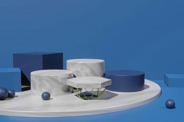 3d-рендеринг сцены макет для создателя сцены
