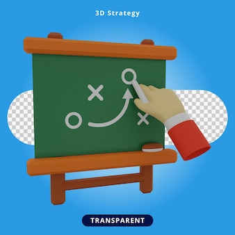 3d 렌더링 전략 프레젠테이션 그림
