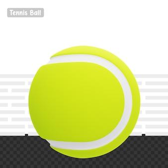 3d визуализация теннисный мяч