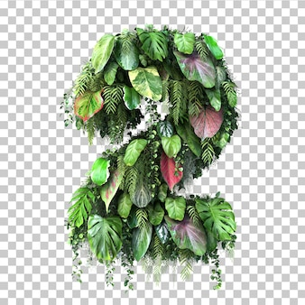 3d rendering of vertical garden number 2