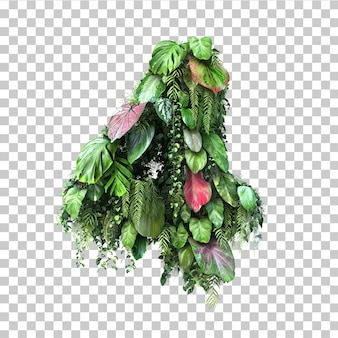 3d rendering of vertical garden number 4