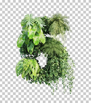 3d rendering of vertical garden number 5