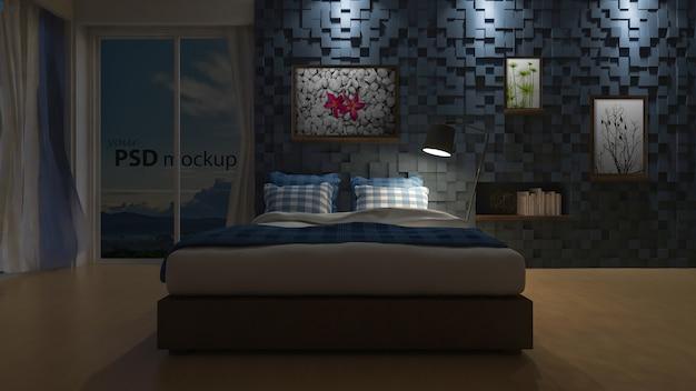3d seaview bedroom