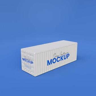 3d-макет контейнера для корабля
