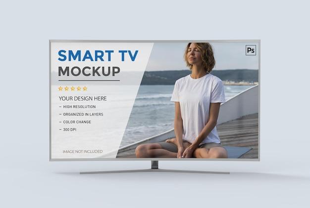 3dスマートテレビモックアップ分離レンダリング