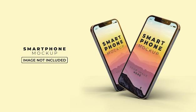 3d макет экрана смартфона