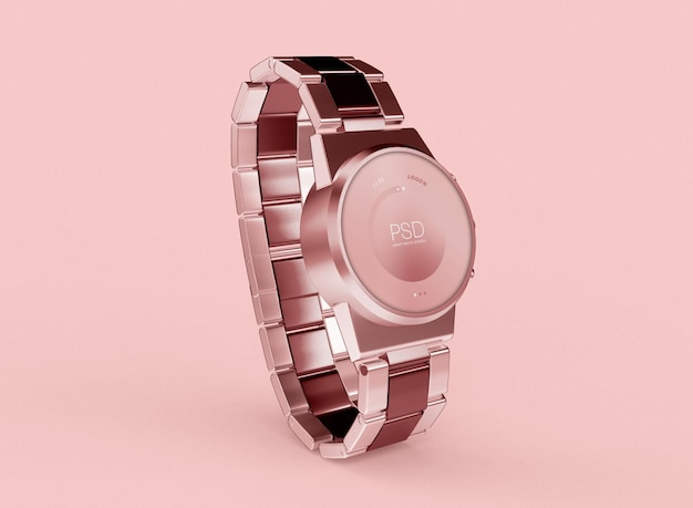 3d smartwatch 모형. 기술 개념