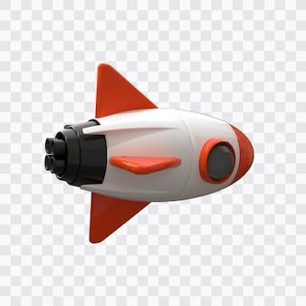 3d space rocket