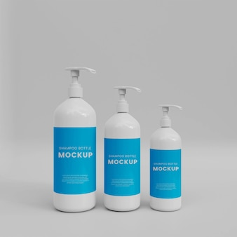 3d макет бутылки с распылителем