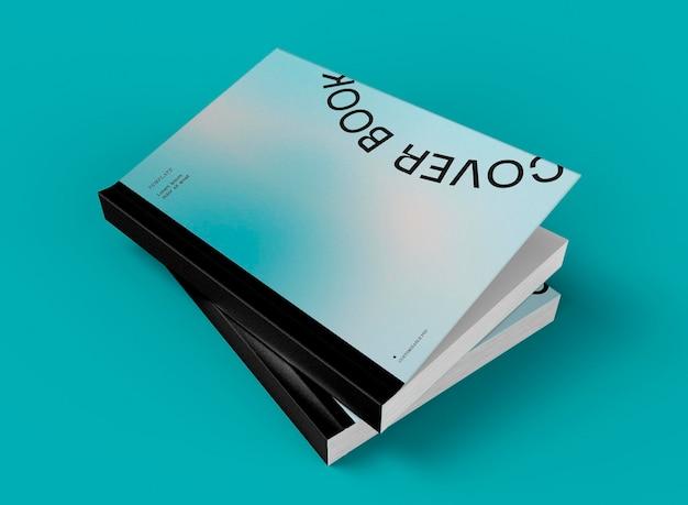 3d шаблон книжных обложек с накоплением