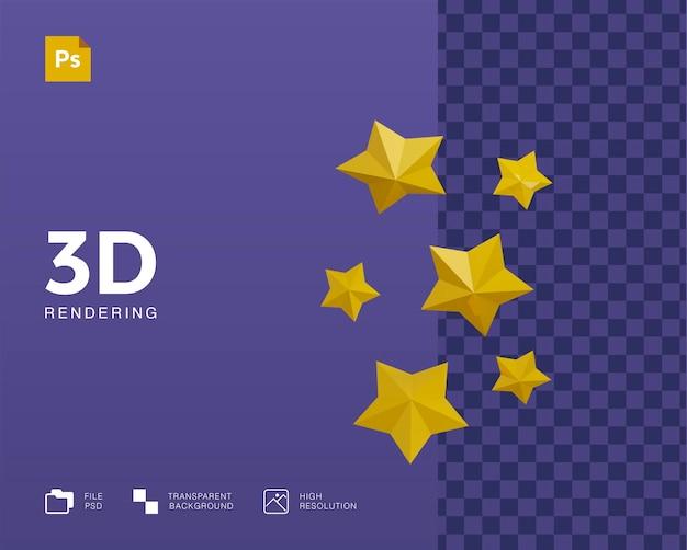 3d звезда иллюстрации