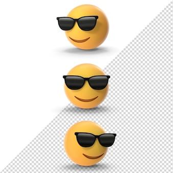 3d солнцезащитные очки emoji