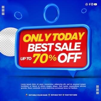 3d text box best sale with discount 70 percentage off