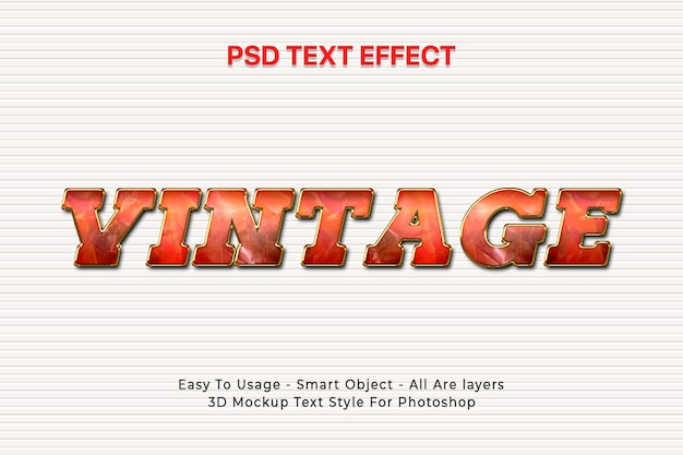 3d text style effect