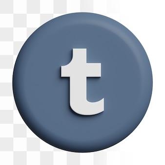 3d 텀블러 아이콘