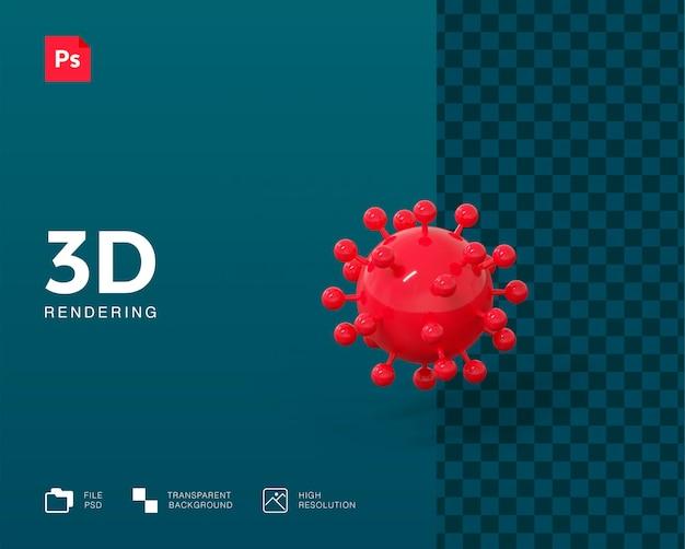 3d вирусная иллюстрация