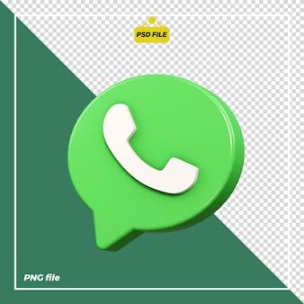 Значок 3d whatsapp