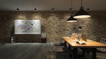 3d working room