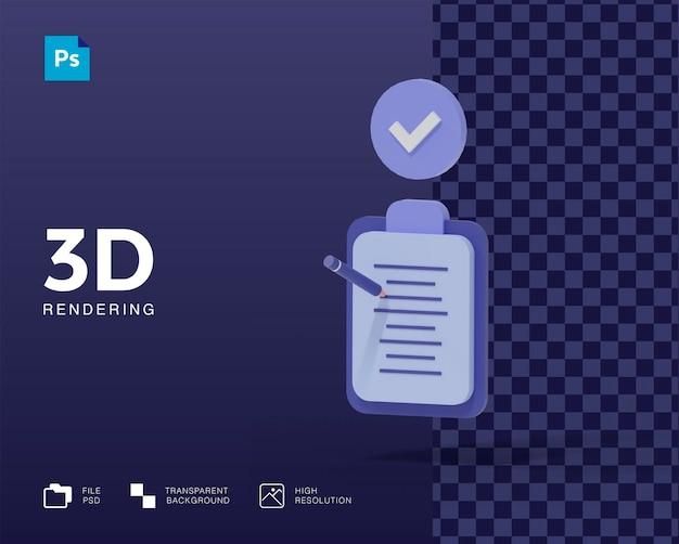 Значки 3d-записи для заметок