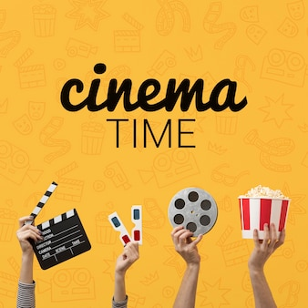 Время кино с 3d-очками и попкорном