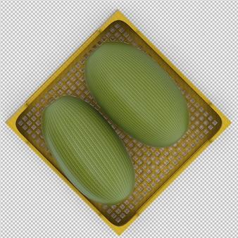 Арбуз 3d визуализации