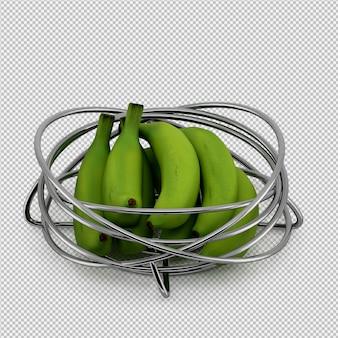 バナナ3dレンダリング
