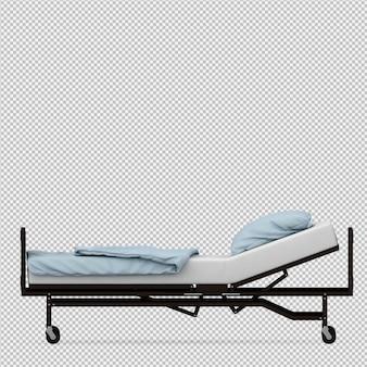 Изометрические медицинское оборудование 3d визуализации