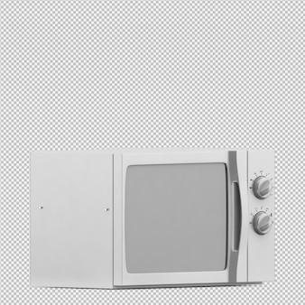 等尺性マイクロ波3dレンダリング