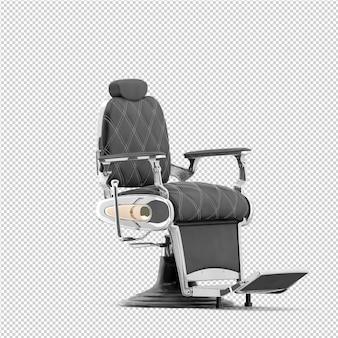 Изометрические косметические аксессуары 3d изолированные визуализации