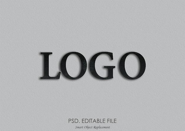 3d макет логотипа