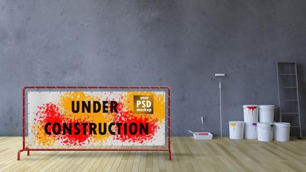 3d-инструменты для пустых стен и окраски