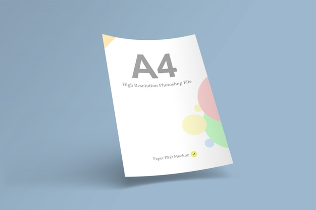 Бумажный макет а4