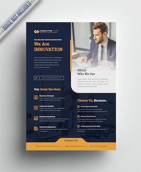Флаер для корпоративного творчества а4