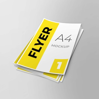 А4 флаер макет