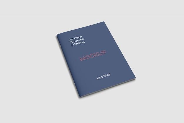 Макет обложки брошюры а4 с большим углом обзора