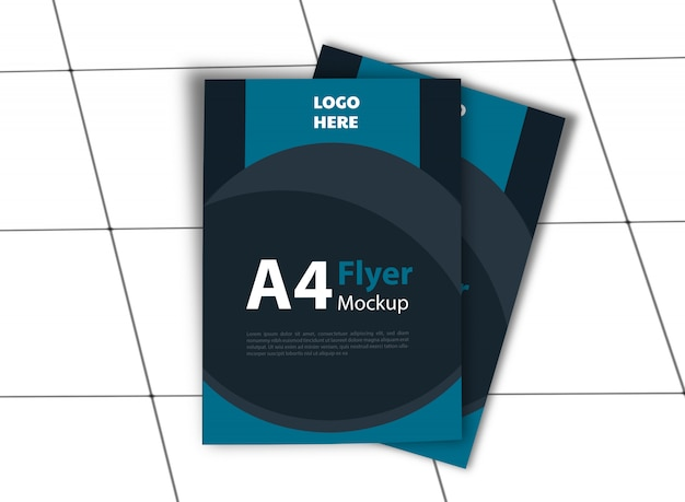 Флаер а4 / макет плаката