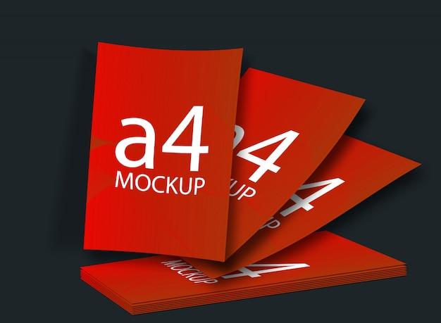 Макет формата а4