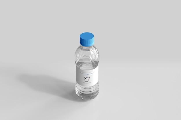 Мокап бутылки с пресной водой на 500 мл