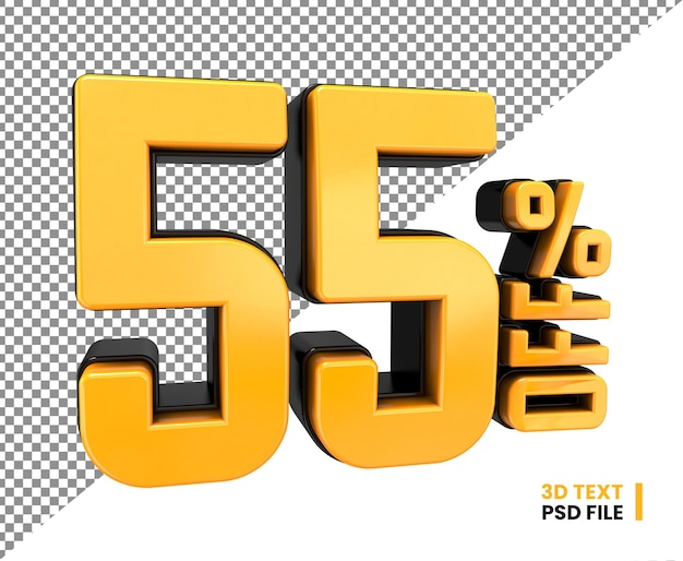 Скидка 55 процентов на скидку в 3d