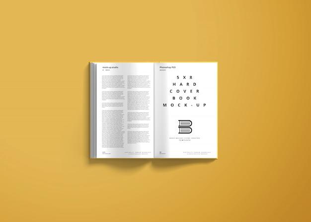 Книжный макет в твердом переплете 5x8