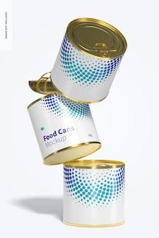60g 식품 캔 모형
