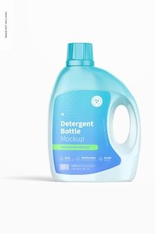 69 oz detergent bottle mockup, front view