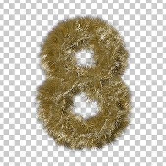 ブロンドの毛皮番号8