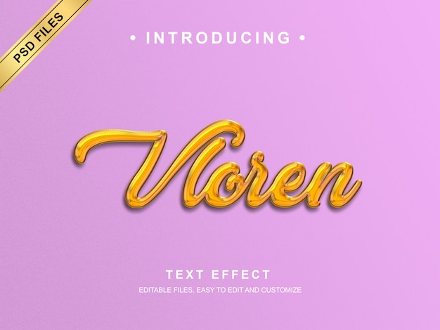 Современный текстовый эффект