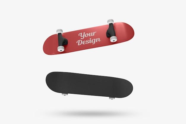 スケートデザインモックアップ