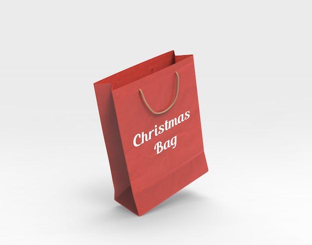 Рождественский макет сумки