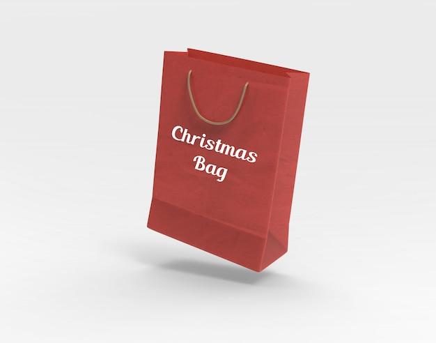 クリスマスバッグモックアップ